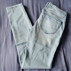 Joe Fresh Mid-Rise Slim Fit Jean Light Blue Size 4